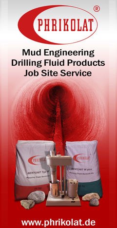 Phrikolat drilling fluid services